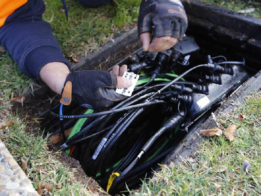 underground wires